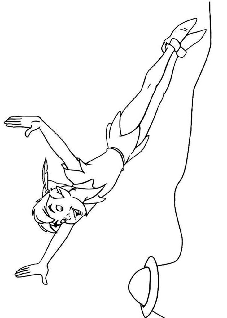 peter pan coloring book pages - photo#35