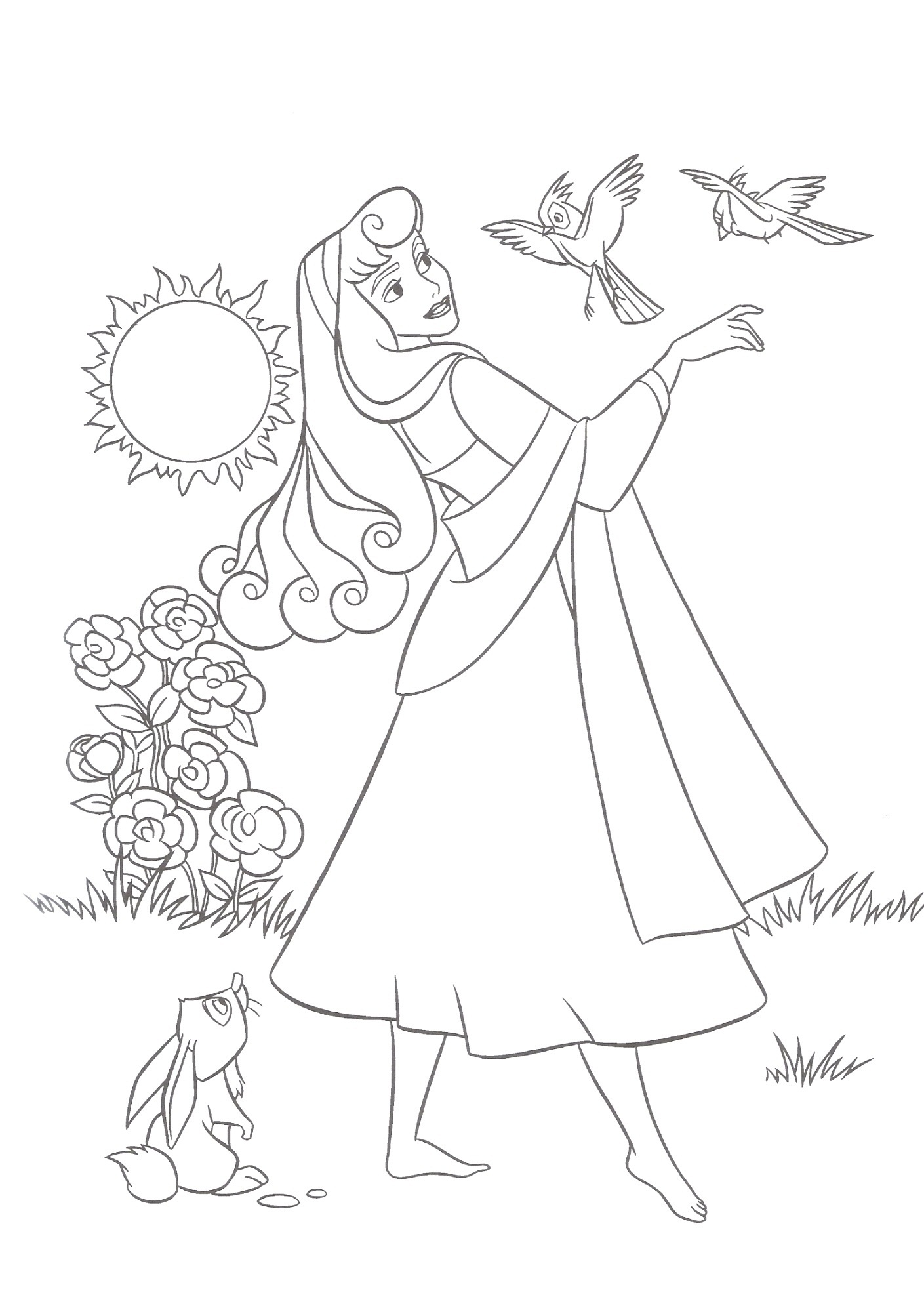 Free Printable Sleeping Beauty Coloring Pages For Kids Disney Princess Coloring Pages Sleeping