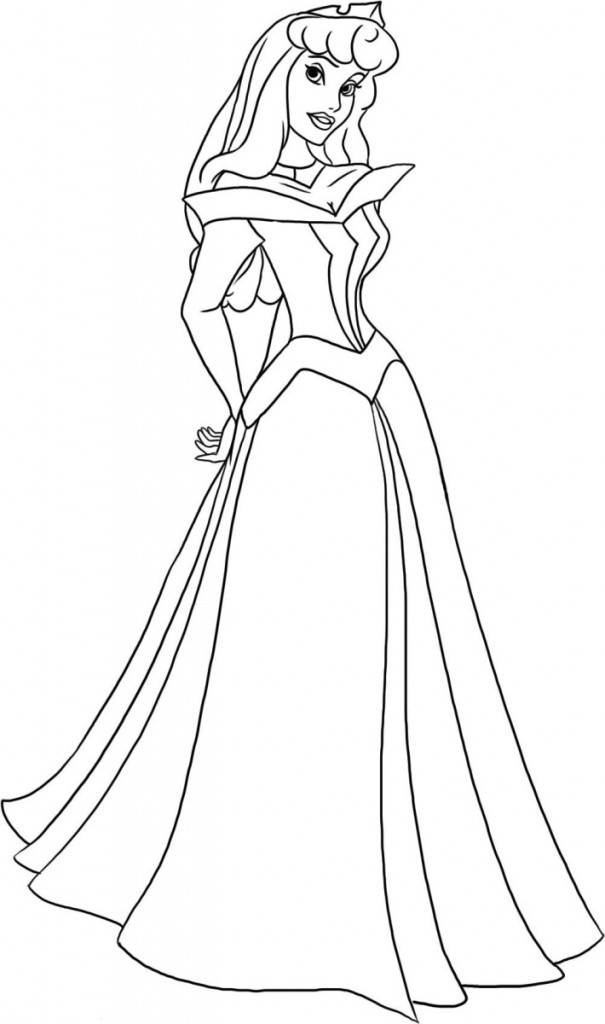sleeping beauty coloring pages disney - photo#4