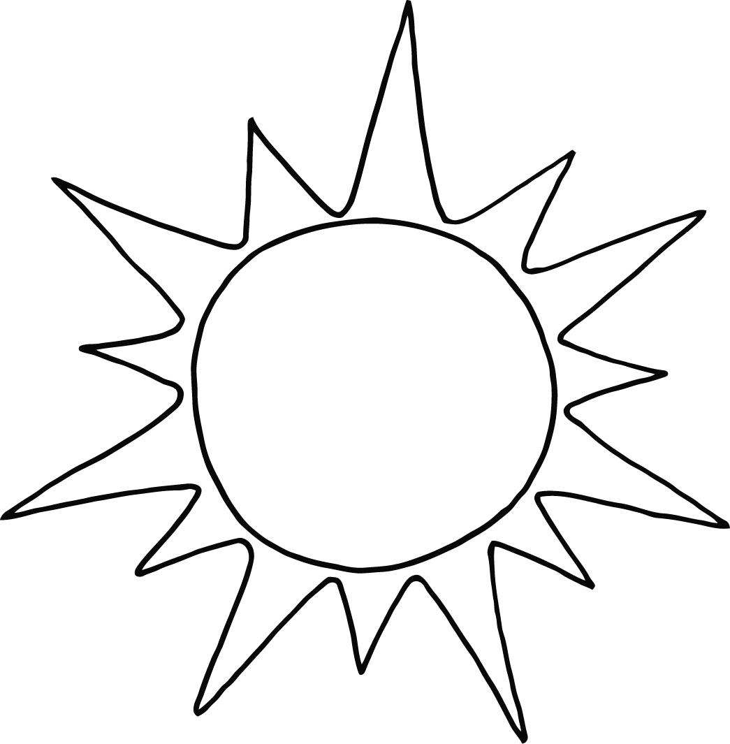 Colouring pages for sun - Sun Coloring Pages