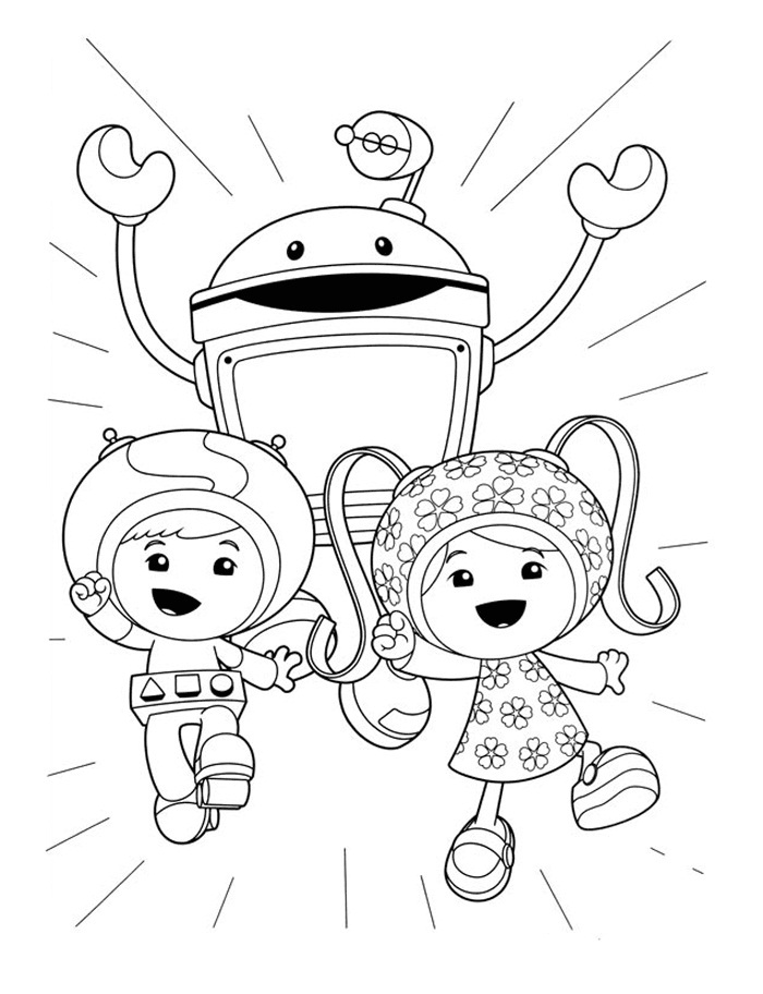 umizoomi coloring pages to print - photo#1