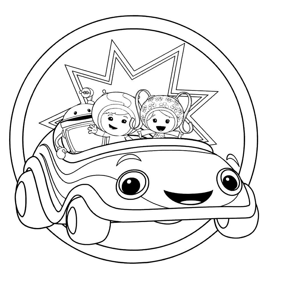 team umizoomi coloring pages free - Umizoomi Coloring Pages Printable
