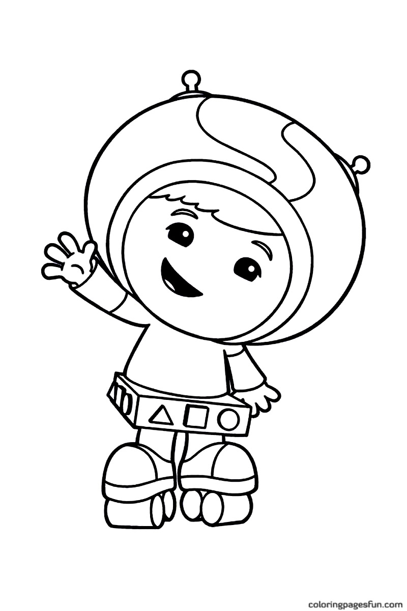 Printable Team Umizoomi Coloring Pages For Kids
