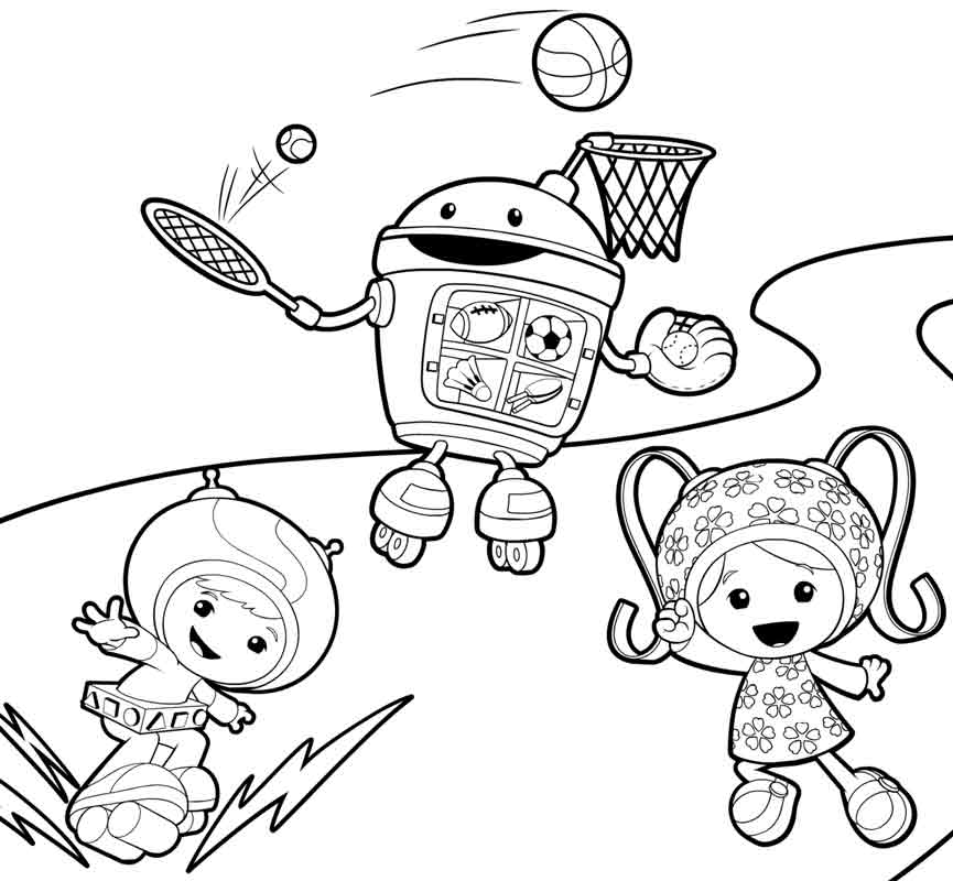 Free Printable Team Umizoomi Coloring Pages For Kids