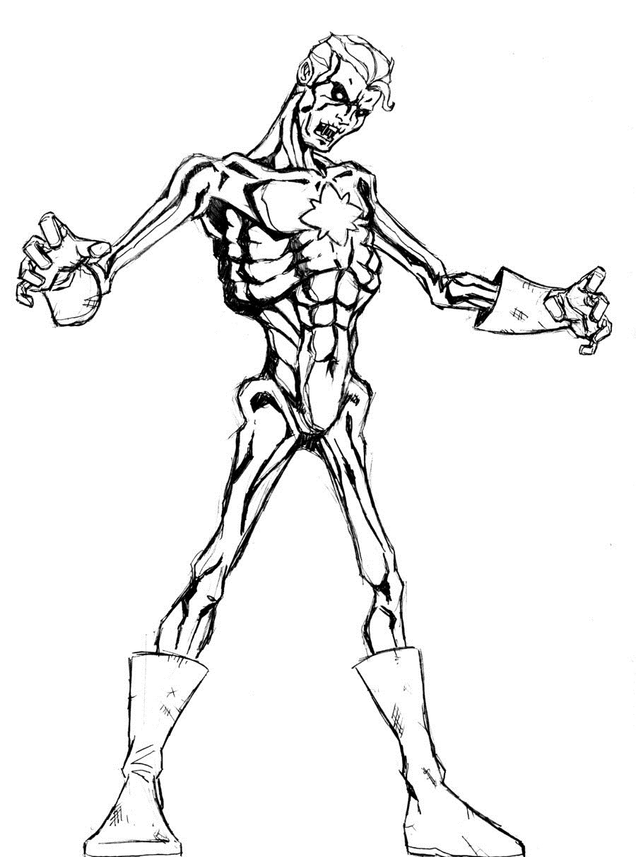 zombie coloring pages pictures - Zombie Coloring Pages