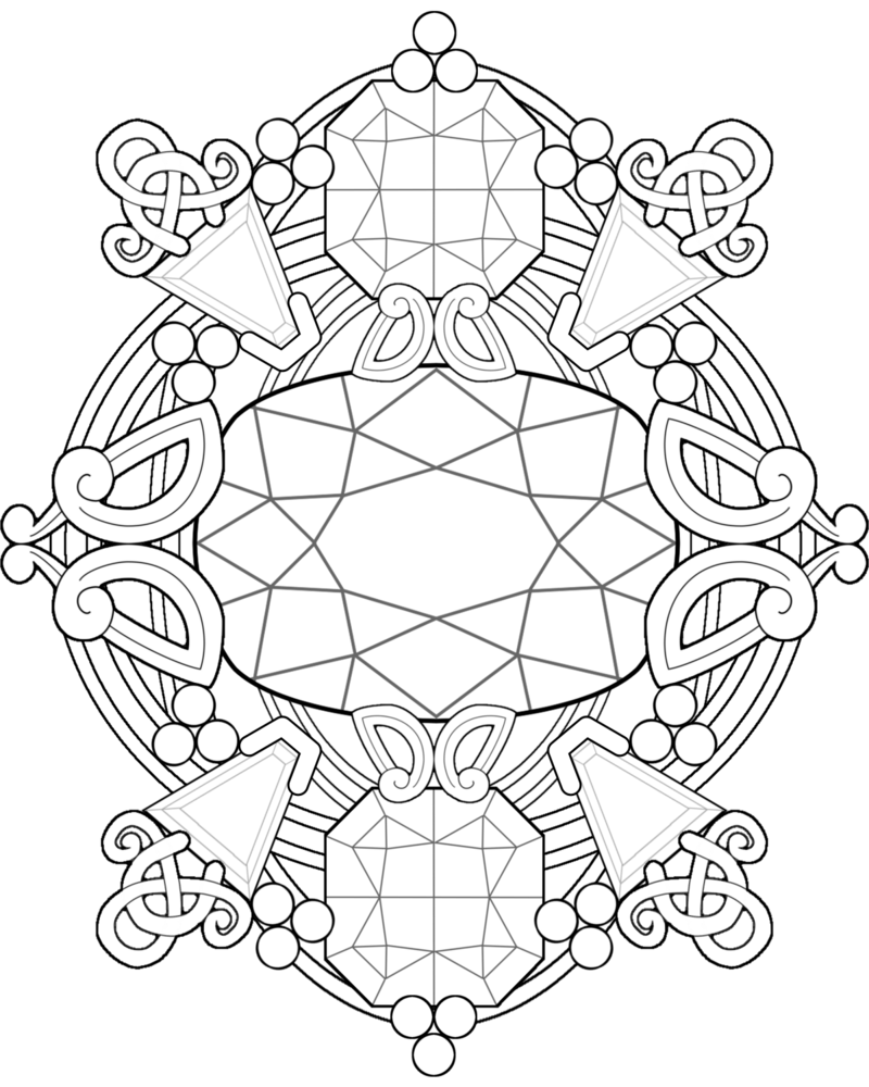 gem coloring pages - photo #14