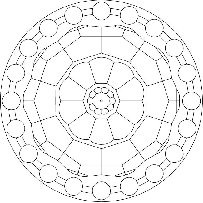 free mandala coloring pages 2