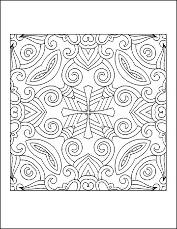 geometric coloring books