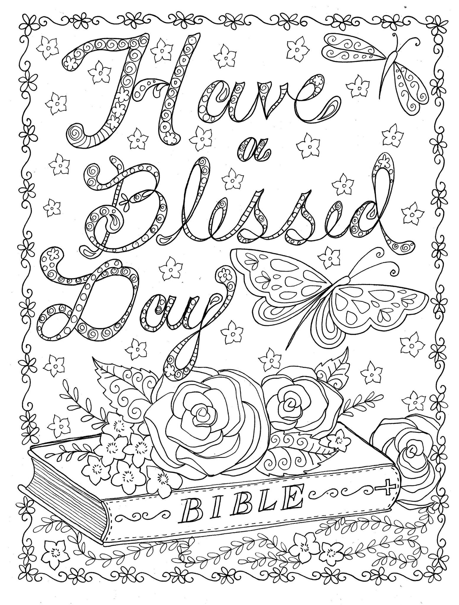 Free printable abstract coloring pages for adults for Free religious coloring pages