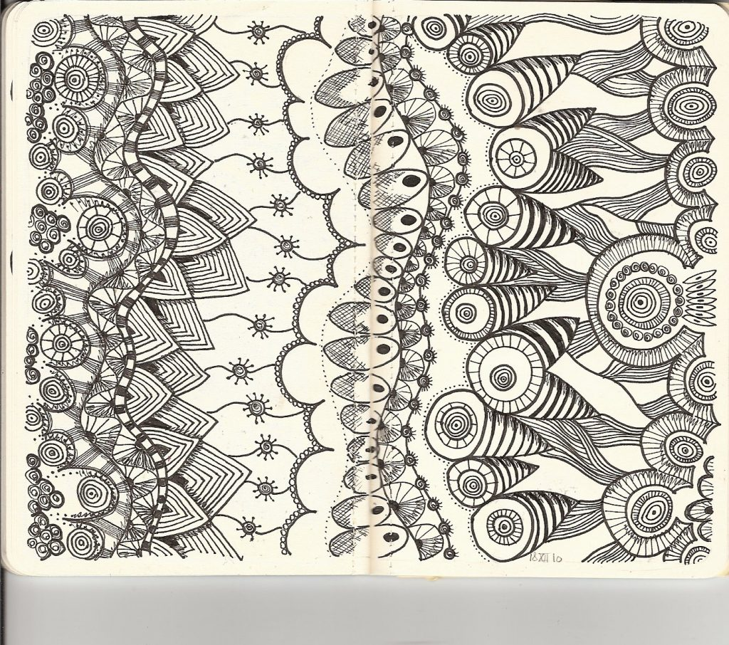 Free Printable Zentangle Coloring