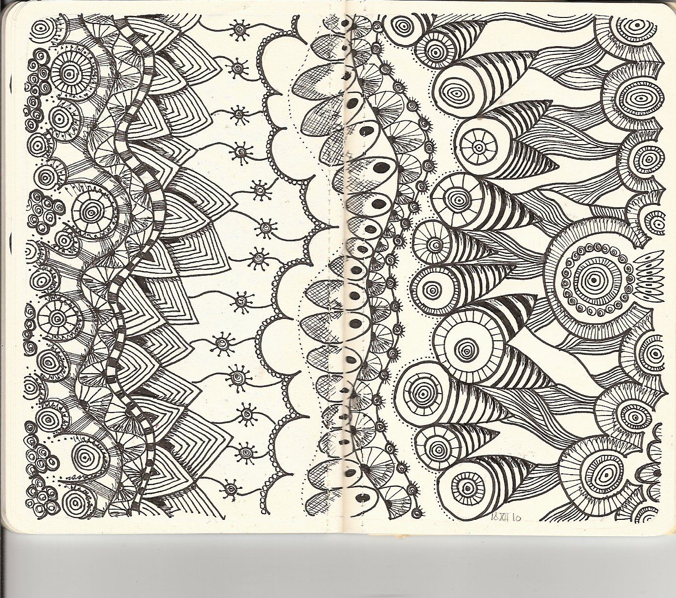 Printable coloring pages zentangle - Printable Zentangle Coloring Pages