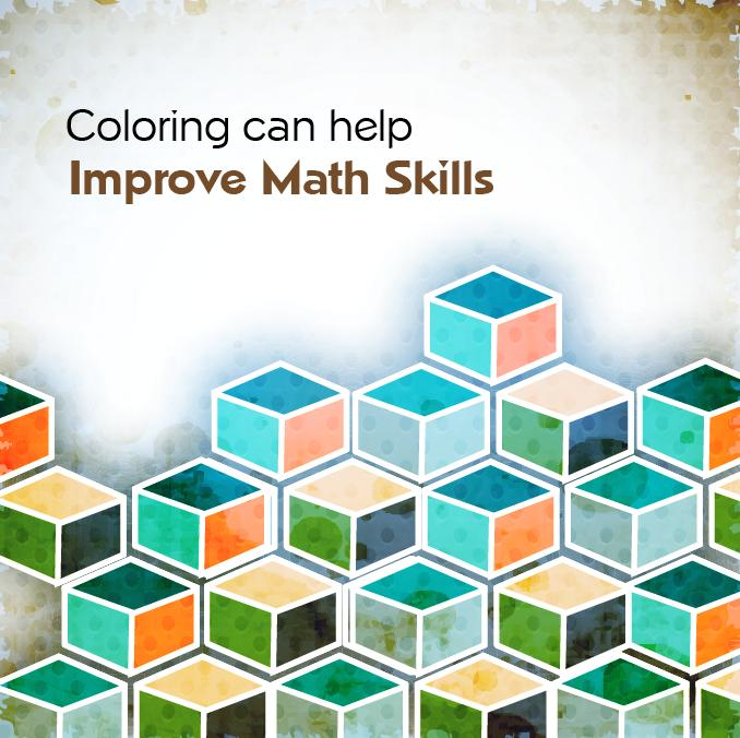 Colors shapes and patterns help to improve math skills in kids