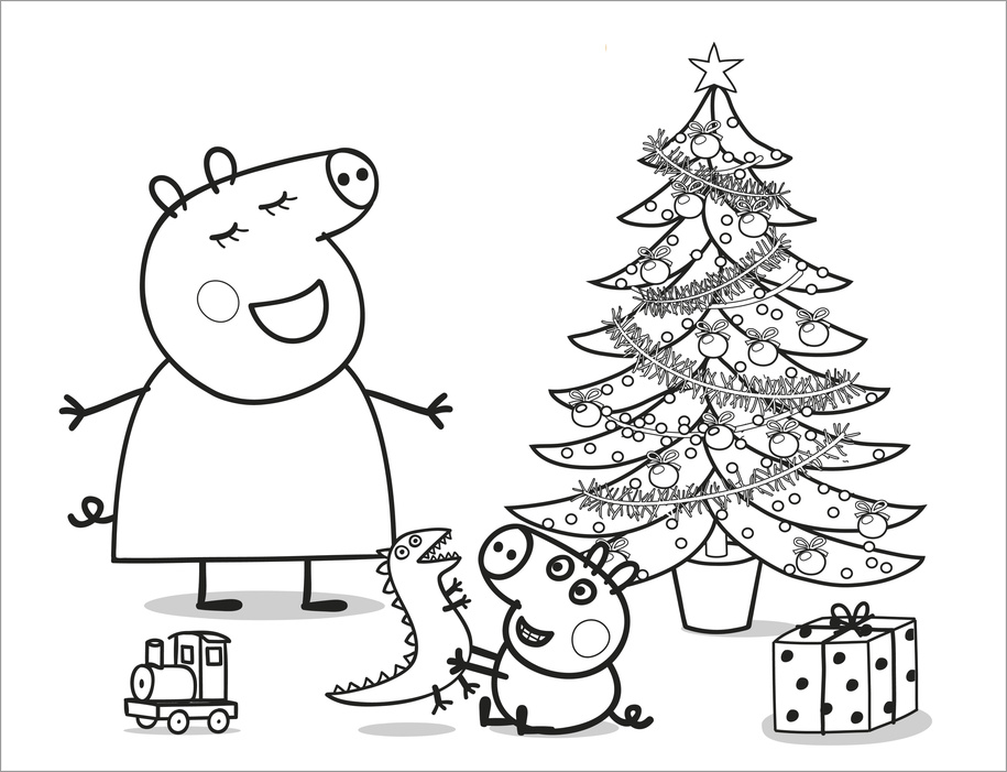 Peppa Pig Para Colorear - Best Coloring Pages For Kids