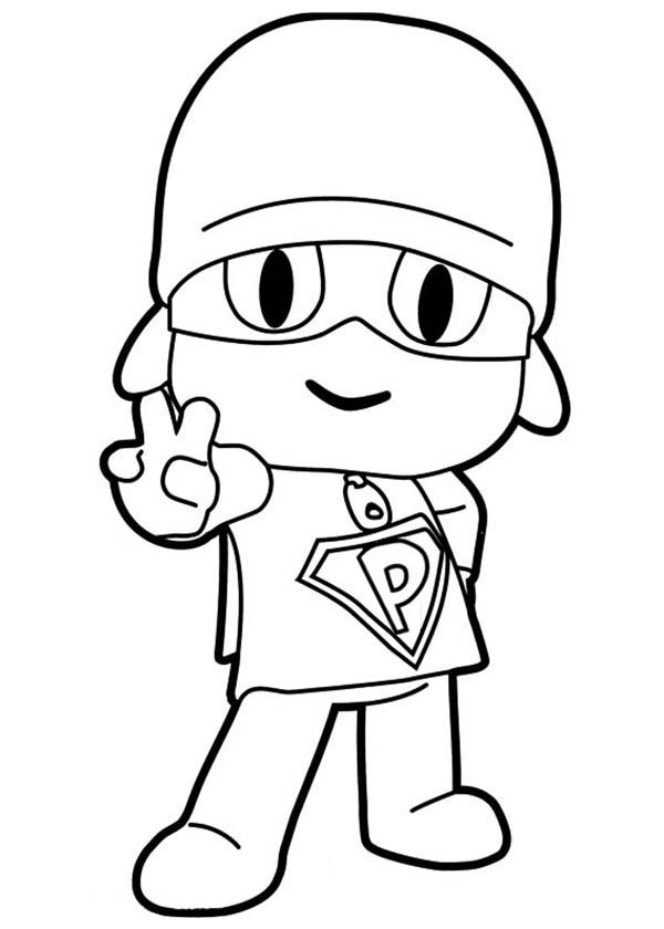 pocoyo coloring pages - photo#33