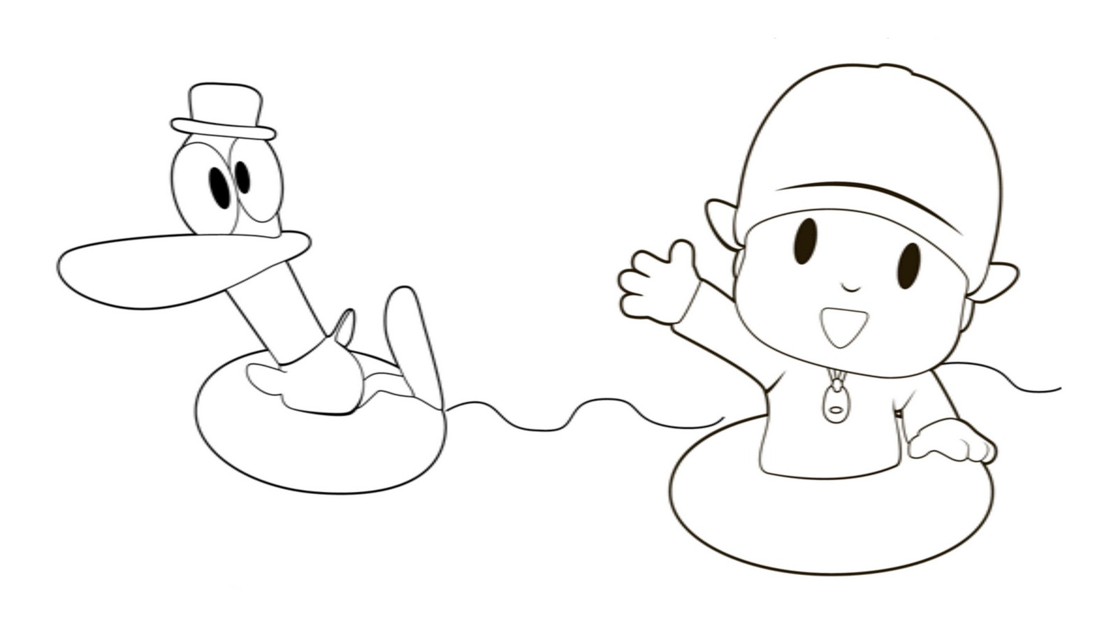 Pocoyo Pginas Para Colorear  Best Coloring Pages For Kids