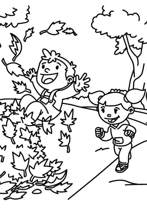Free Printable Fall Coloring Pages for Kids Best | Coloring ...