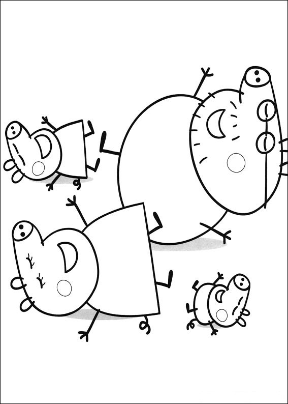 Peppa pig para colorear best coloring pages for kids for Coloring pages peppa pig
