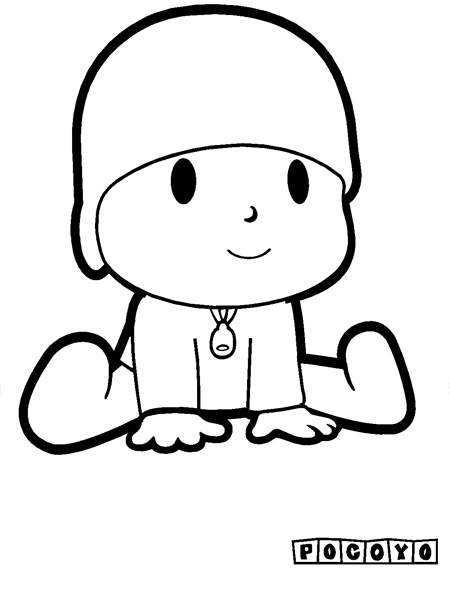 pocoyo coloring pages - photo#24