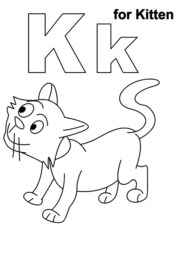 coloring pages of kittens