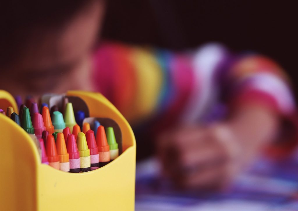 coloring therapy for kids