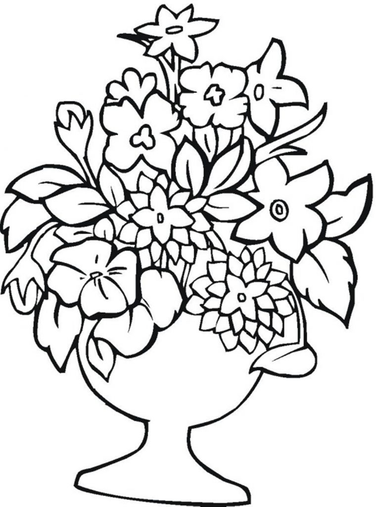 It is a graphic of Inventive Flowers to Print