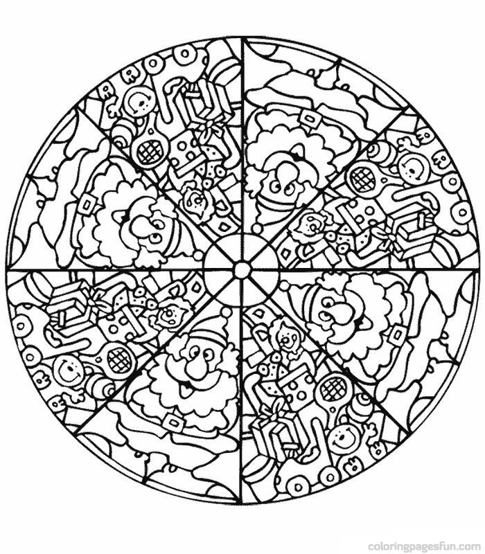 free coloring mandalas for kids