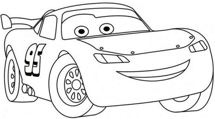 Free Printable Lightning Mcqueen Coloring Pages For Kids Lightning Mcqueen Coloring Page