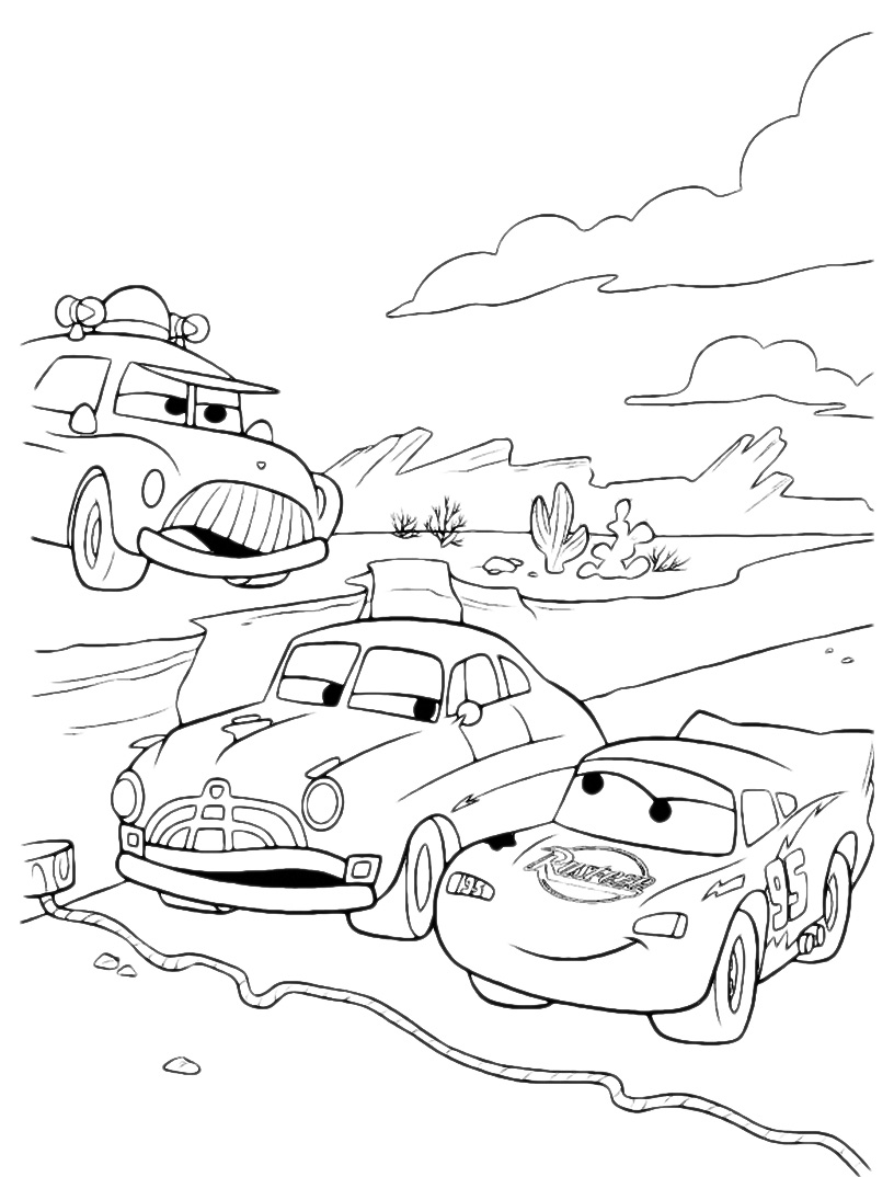 Disney coloring pages lightning mcqueen - Free Lightning Mcqueen Coloring Sheets
