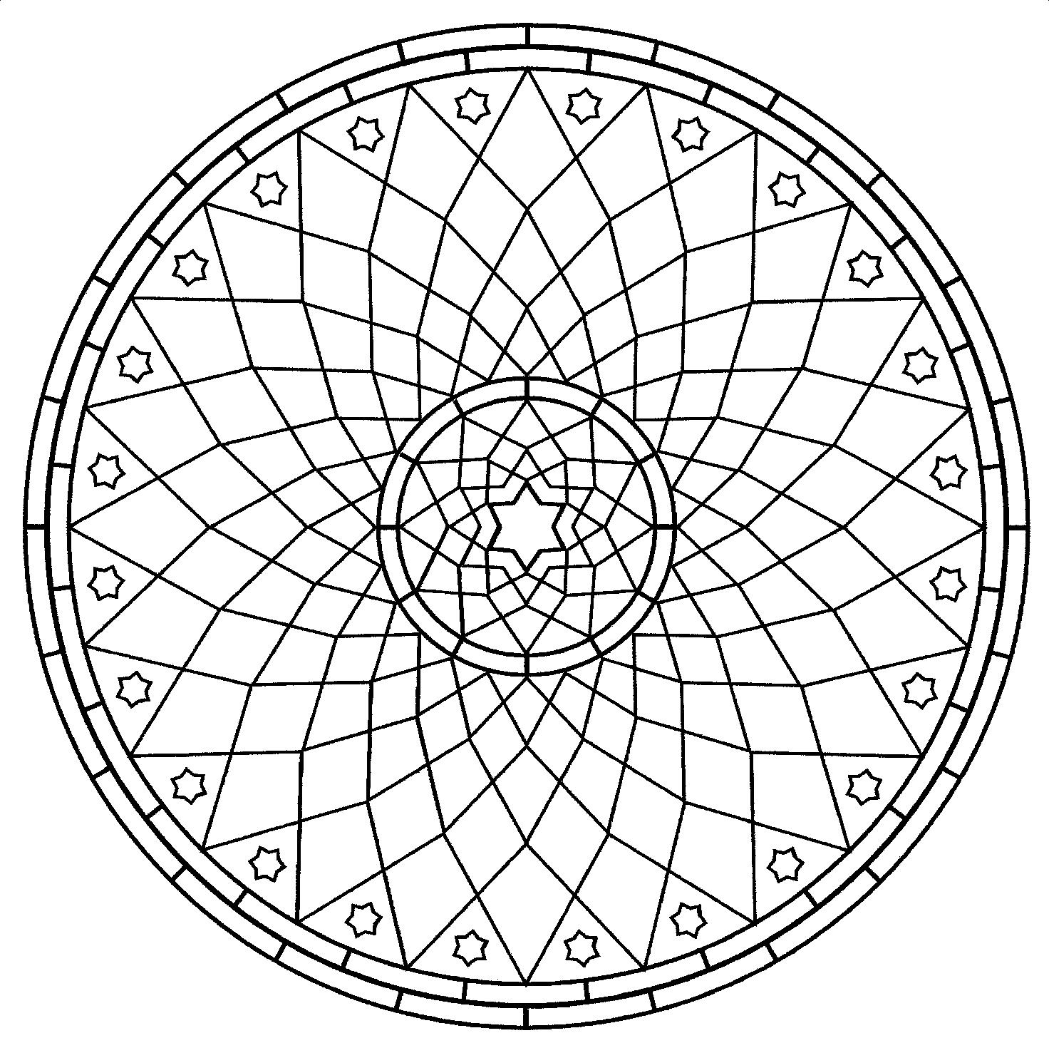 free mandala coloring pages for kids - Free Easy Coloring Pages