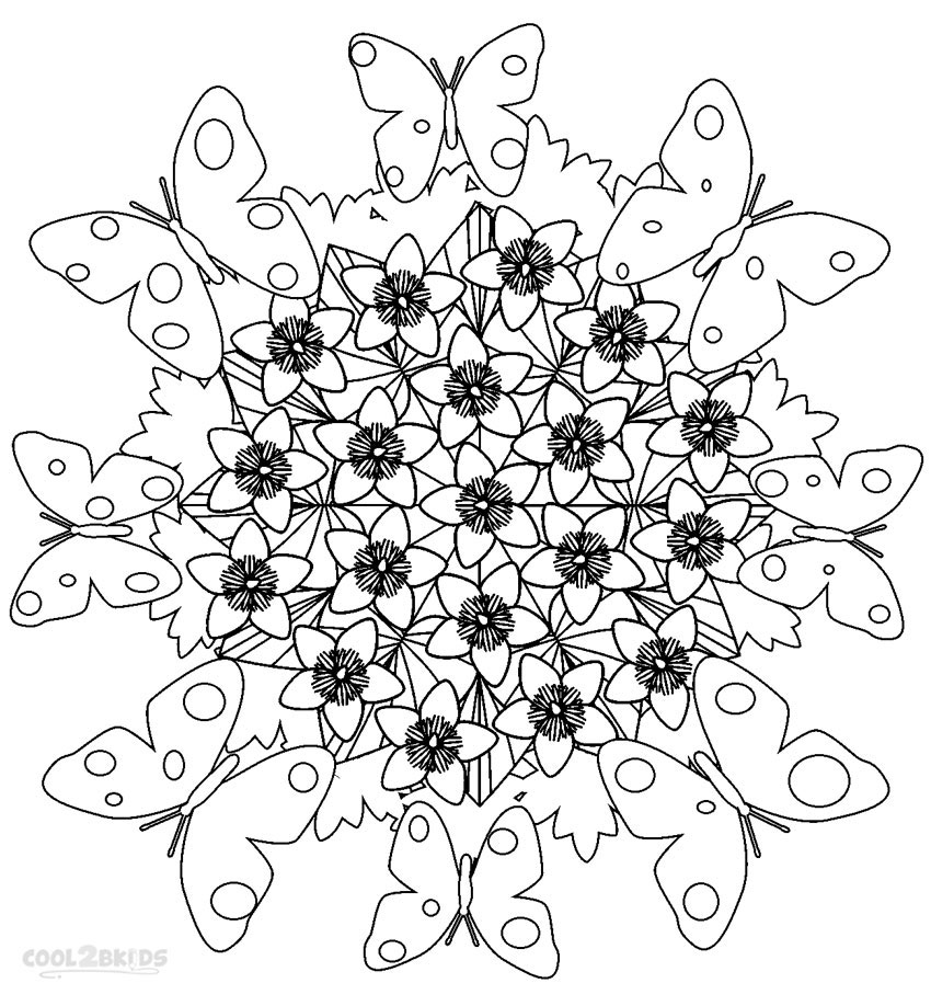Free Mandala Coloring Pages To Download