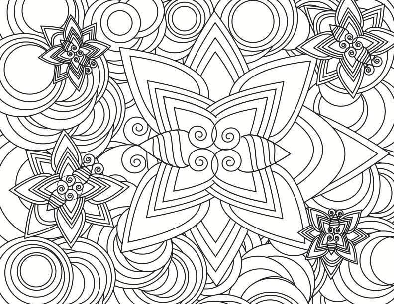 Hard Coloring Pages Free To Download