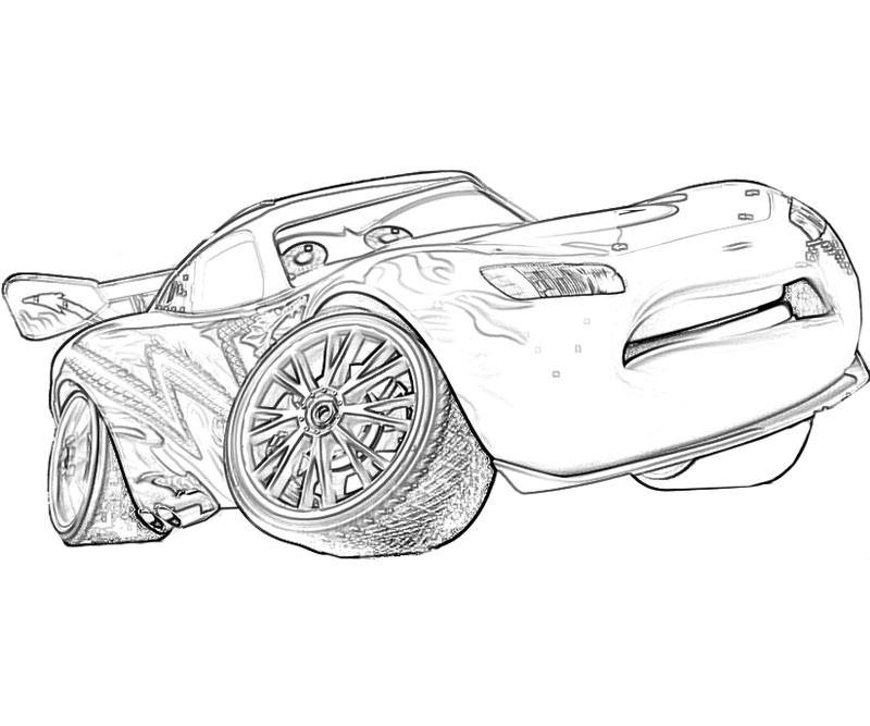 mcqueen lightning coloring pages - photo#8