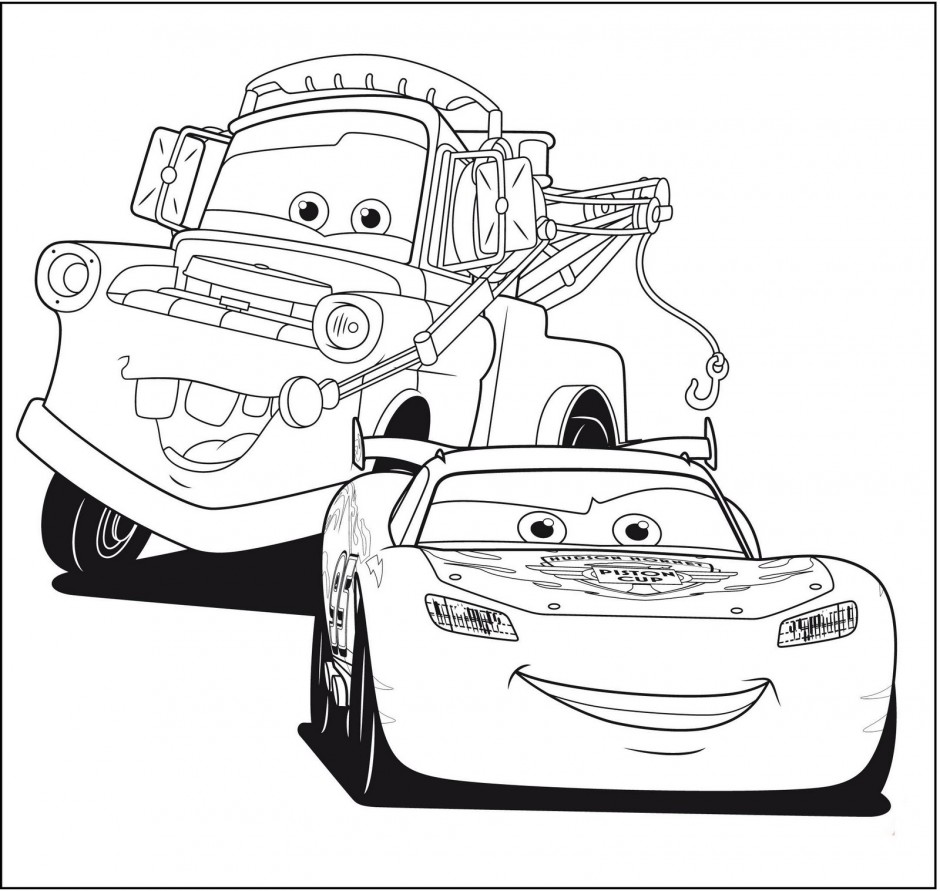 free printable mater coloring pages - photo#33