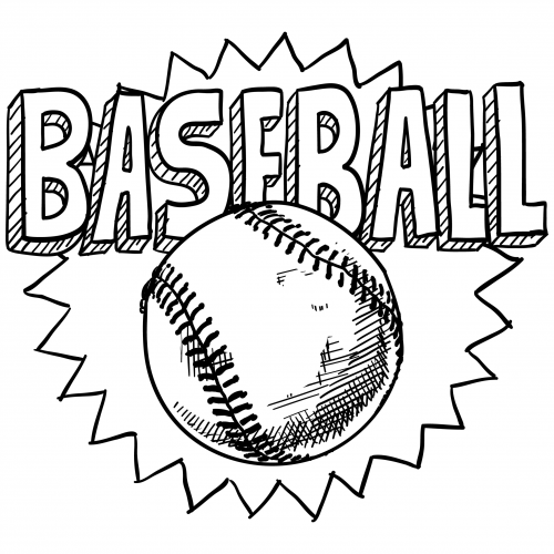 baseball coloring pages for preschoolers | Free Printable Baseball Coloring Pages for Kids - Best ...
