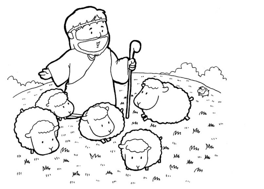 children christian coloring pages - photo#8