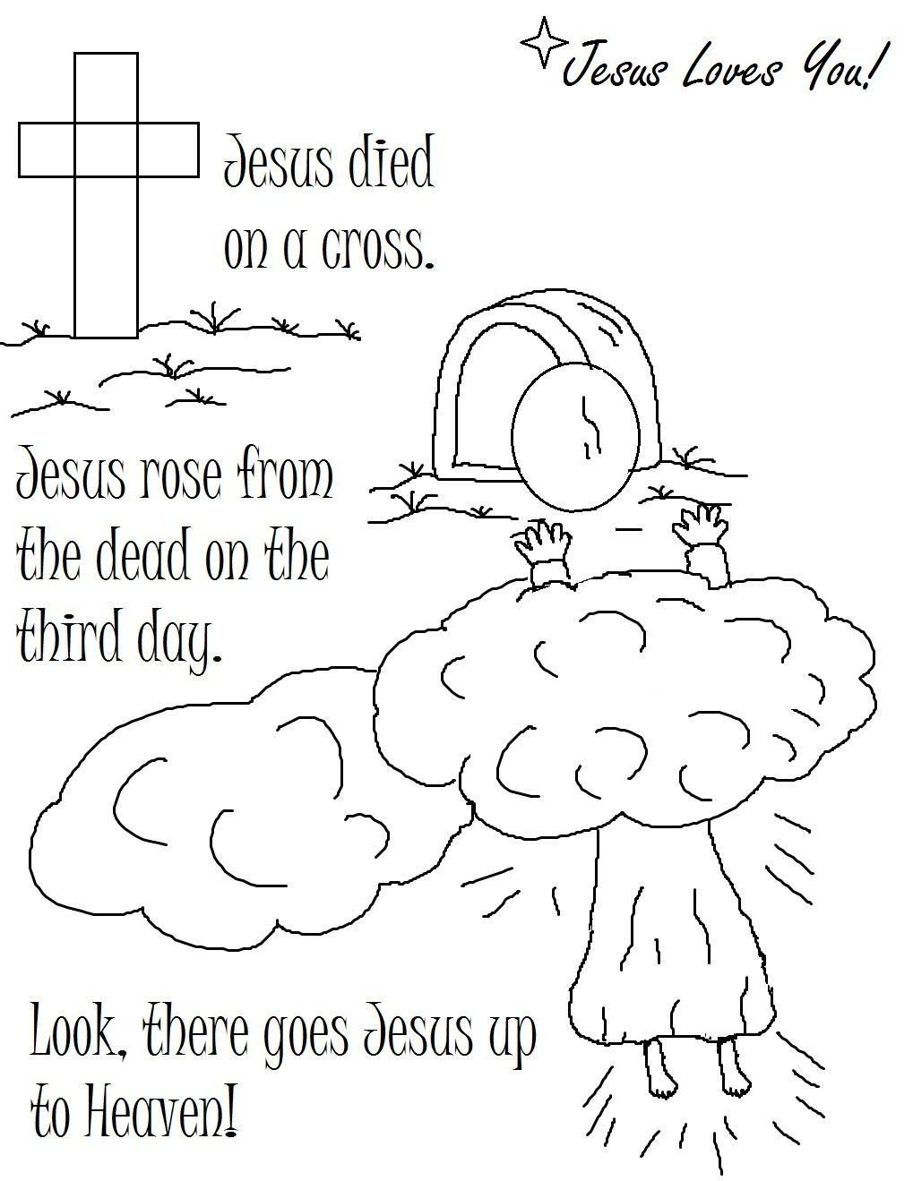 Christian Coloring Pages To Download And Print