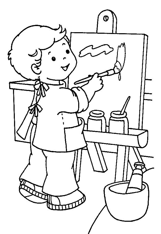 preschool free coloring pages - photo #46