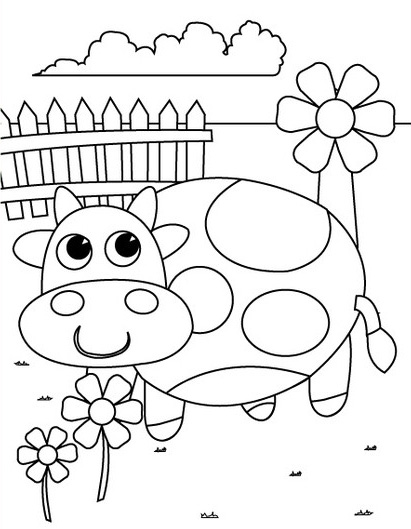print coloring pages for preschool - Free Printable Pictures To Color