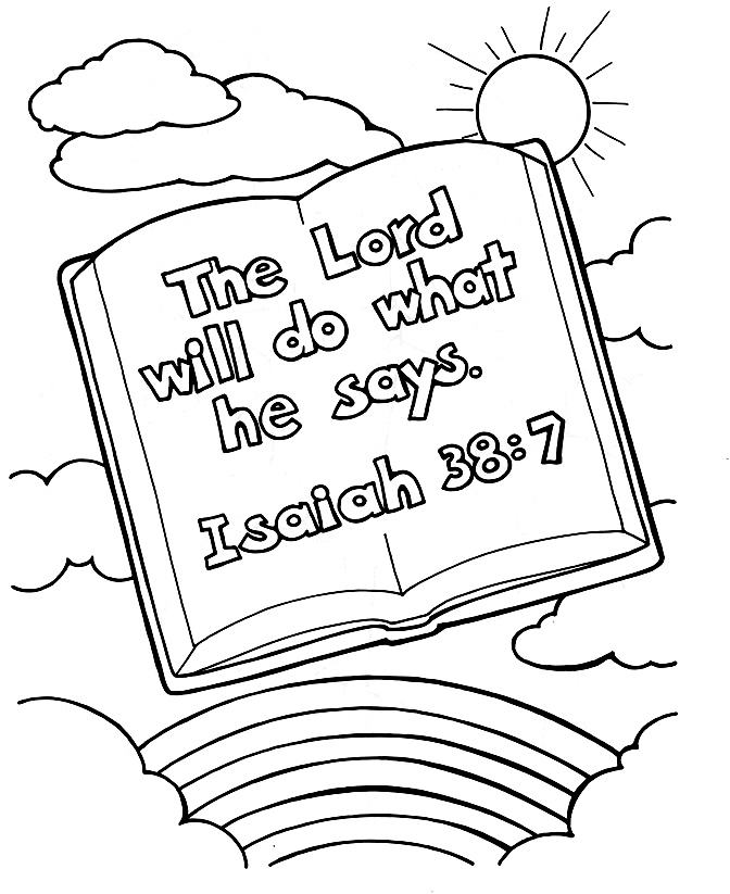 bible crafts coloring pages - photo#3