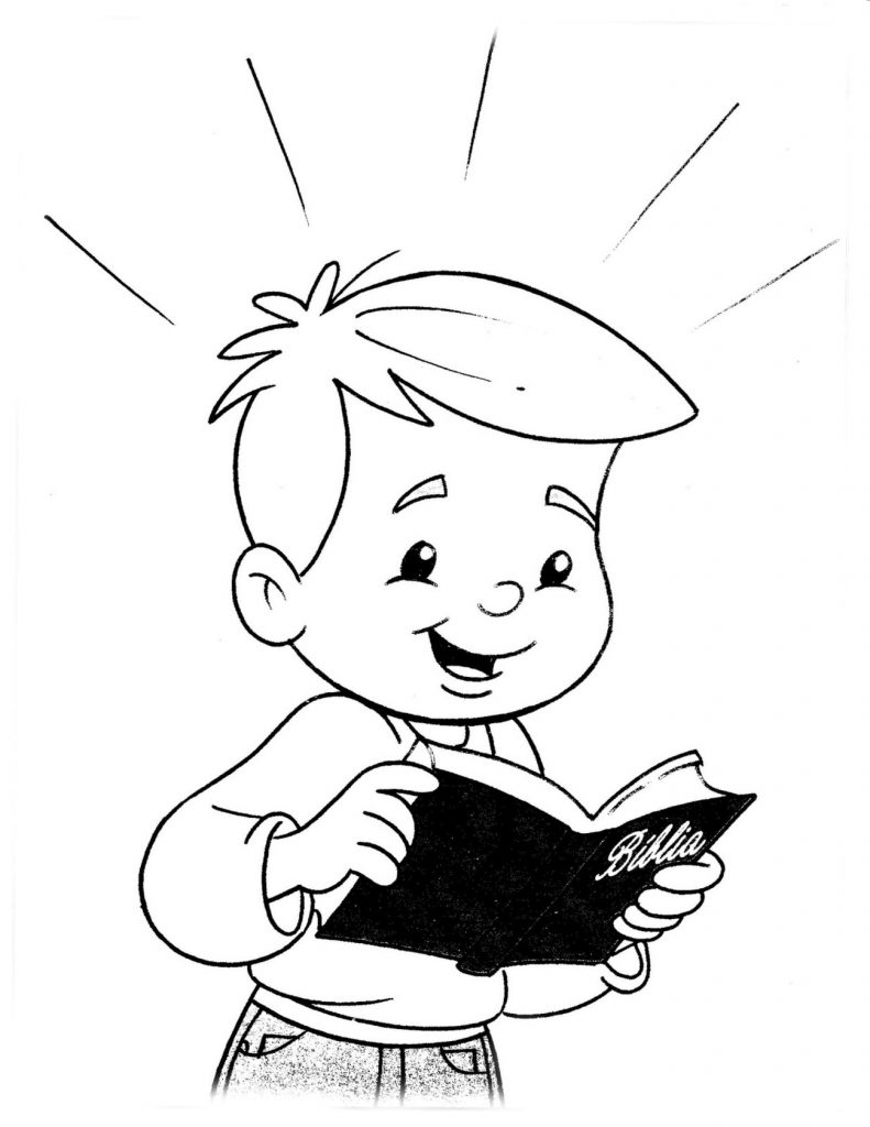 christian child coloring pages free - photo#7