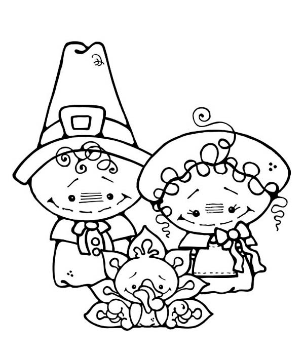 cute turkey coloring pages - photo#32