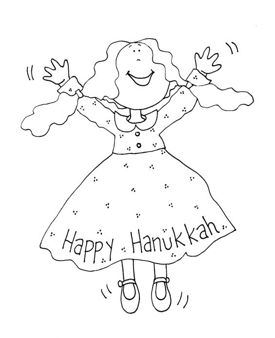 hanukkah coloring pages printable - photo#31