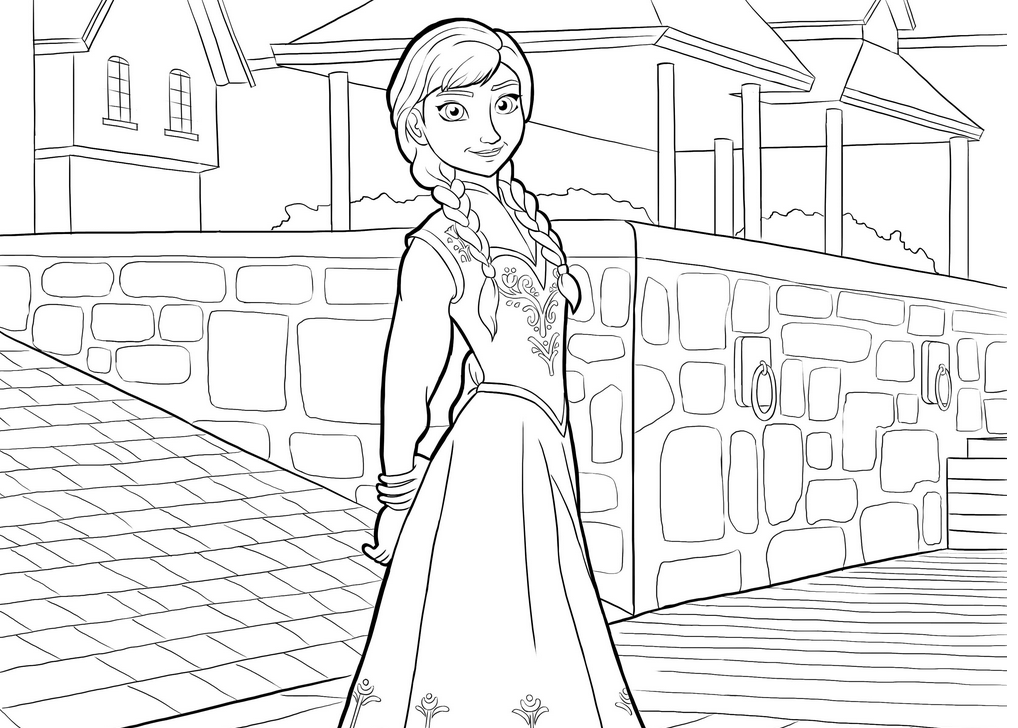 frozen coloring pages pictures - Free Printable Coloring Pages Of Elsa From Frozen