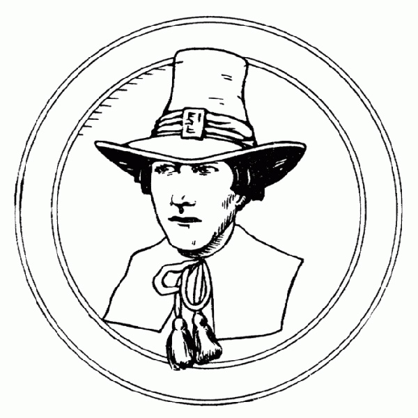 Pilgrim Coloring Pages Historical
