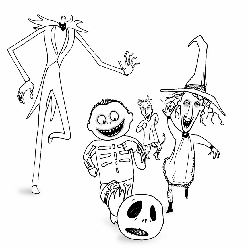 Free Printable Nightmare Before
