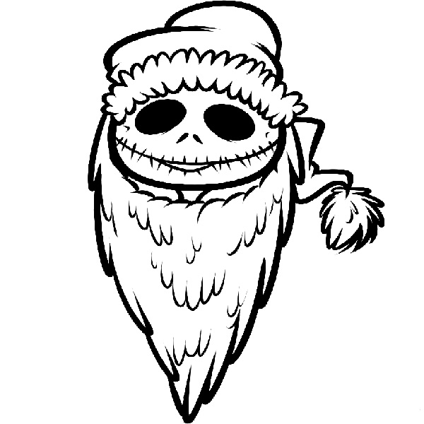 Nightmare Before Christmas Coloring Pages Adorable Free Printable Nightmare Before Christmas Coloring Pages  Best Design Ideas