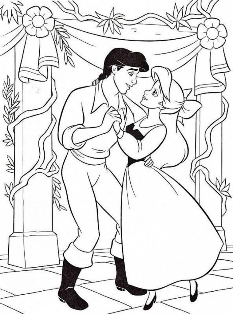ariel disney coloring pages - photo#20