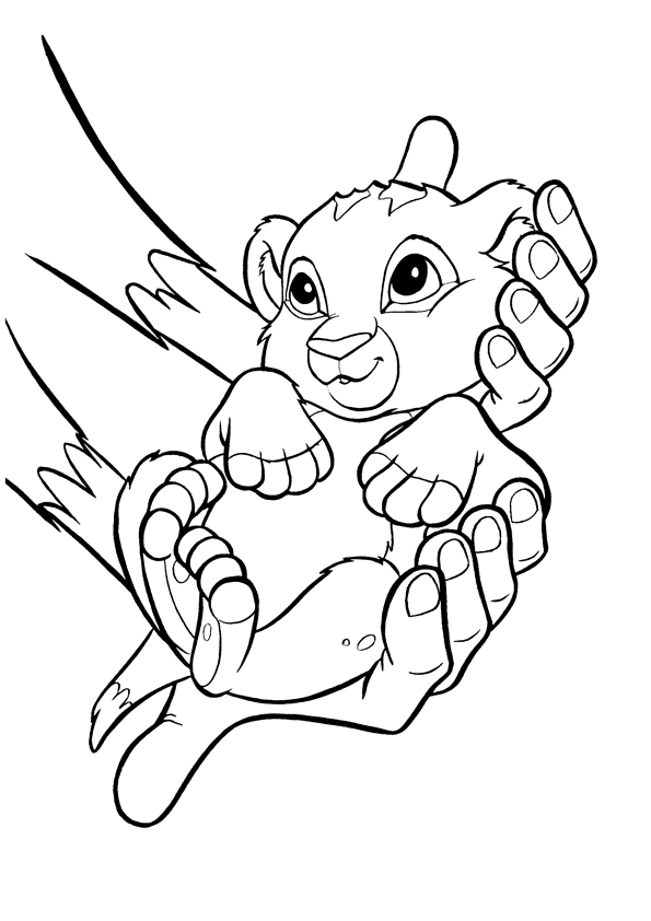 lion king coloring pages - photo#20
