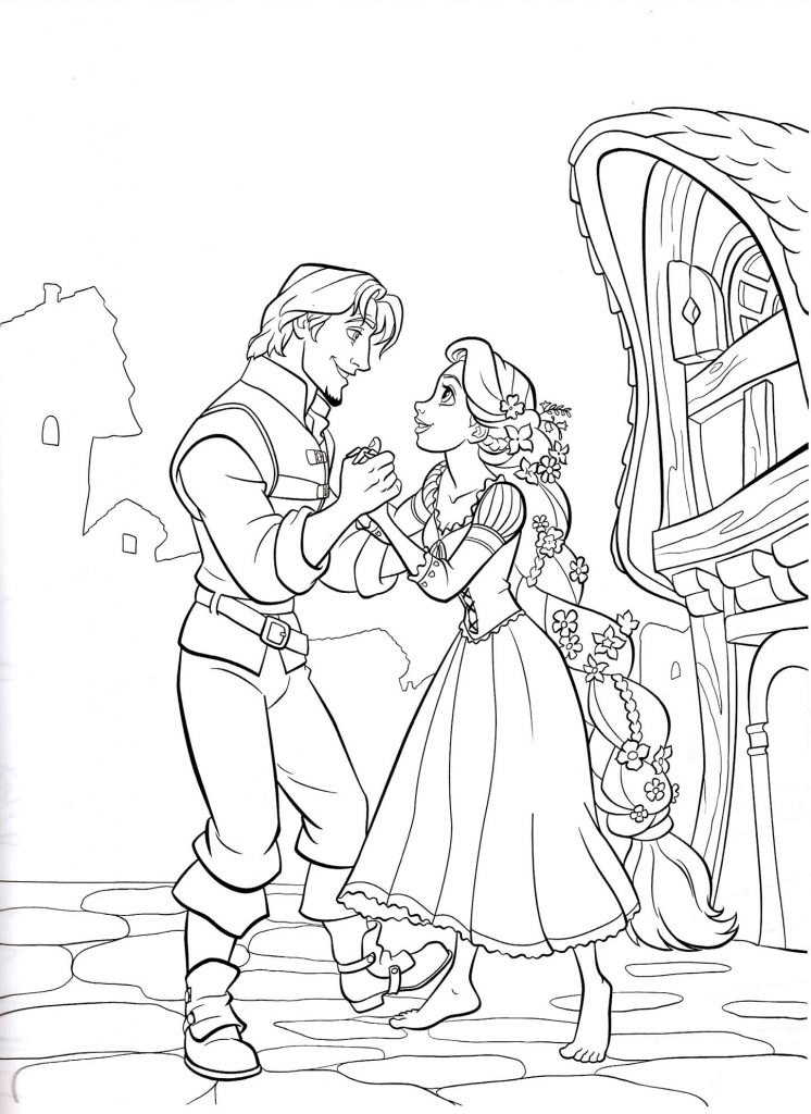 Rapunzel coloring pages best coloring pages for kids for Coloring book pages for toddlers