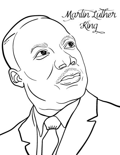 It's just a graphic of Nerdy Martin Luther King Coloring Sheets Printable